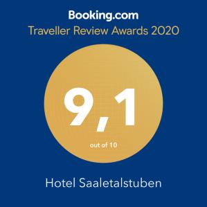 Auszeichnung Guest Review Award von Booking.com